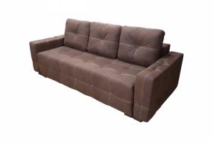 Мягкий диван с утяжками прямой Честер - Мебельная фабрика «Viktoria»