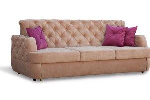 Мягкий диван с утяжками Валенсия - Мебельная фабрика «Яна»