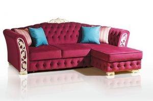 Мягкий диван Турин угловой - Мебельная фабрика «Качканар-мебель»