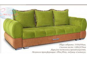 Мягкий диван Волна - Мебельная фабрика «Евростиль»