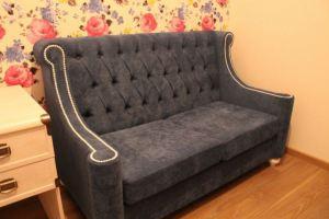 Мягкий диванчик с утяжками - Мебельная фабрика «ChesterStyle»
