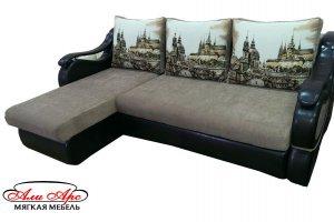 Мягкий и комфортный угловой диван Виктория - Мебельная фабрика «Али Арс», г. Кузнецк