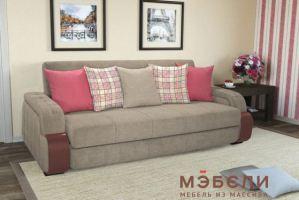 Мягкий прямой диван Николь - Мебельная фабрика «МЭБЕЛИ»
