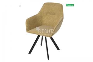Мягкий стул Ортон Луч - Мебельная фабрика «Дебют»