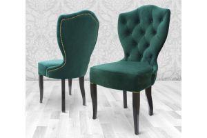Мягкий стул в каретной стяжке Arctica - Мебельная фабрика «Добрый Дом»