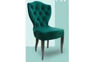 Мягкий стул в каретной стяжке Arctica - Мебельная фабрика «BALOO mebel»