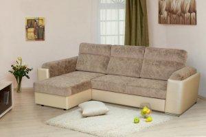 Мягкий тканевый диван Монако - Мебельная фабрика «Элегантный Стиль»