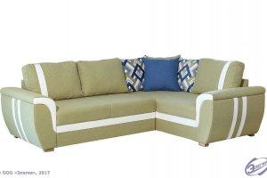 Мягкий угловой диван Глория-42  - Мебельная фабрика «Элегия»