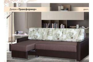 Мягкий угловой диван Трансформер  - Мебельная фабрика «ФСМ Дарди», г. Ижевск