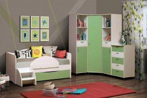 Набор детской мебели Алиса-3 - Мебельная фабрика «Виктория»