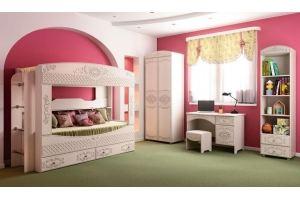 Набор детской мебели Каролина 2 - Мебельная фабрика «Олмеко»