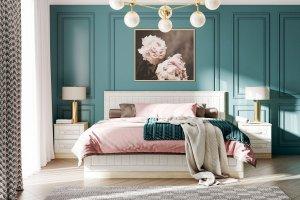 Набор для спальни Оливия - Мебельная фабрика «Сильва»