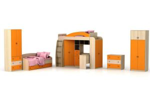 Набор мебели Денди для детской комнаты - Мебельная фабрика «СМ-Мебель»