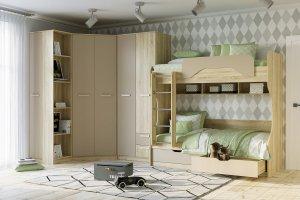 Набор мебели для детской Акварель - Мебельная фабрика «Сильва»