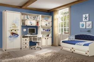 Набор мебели для детской Севилья - Мебельная фабрика «Олмеко»