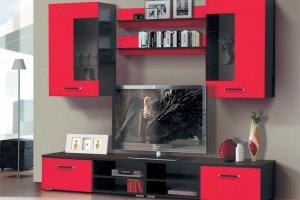 набор мебели для гостиной Грация 1.4 - Мебельная фабрика «Матрица»