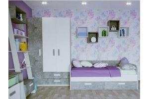 Набор мебели для молодежной Сканди - Мебельная фабрика «МФМ (Магнитогорская мебельная фабрика)»