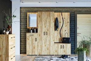 Набор мебели для прихожей Агата 01 - Мебельная фабрика «Компасс»