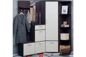 Набор мебели для прихожей С - Мебельная фабрика «Милайн»