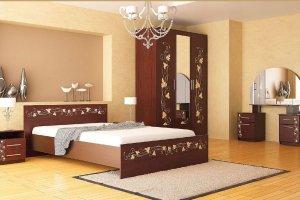 Набор мебели для спальни Анжелика-1 - Мебельная фабрика «Юнона»