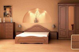 Набор мебели для спальни Анжелика-10 - Мебельная фабрика «Юнона»