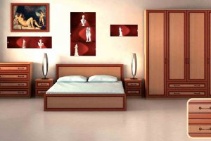 Набор мебели для спальни Анжелика-11 - Мебельная фабрика «Юнона»