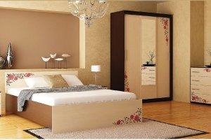 Набор мебели для спальни Анжелика-12 - Мебельная фабрика «Юнона»