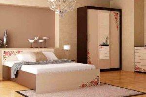 Набор мебели для спальни Анжелика-14 - Мебельная фабрика «Юнона»