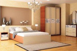 Набор мебели для спальни Анжелика-3 - Мебельная фабрика «Юнона»