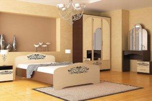 Набор мебели для спальни Анжелика-4 - Мебельная фабрика «Юнона»