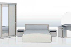 Набор мебели для спальни Анжелика-7 - Мебельная фабрика «Юнона»
