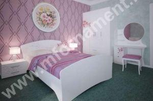 Набор мебели для спальни с Фотопечатью ЦВЕТЫ - Мебельная фабрика «Орнамент»