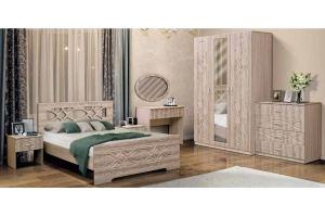 Набор мебели для спальни Венеция 7 - Мебельная фабрика «Матрица»