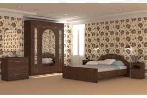 Набор мебели для спальной Европа 6 - Мебельная фабрика «Гермес»
