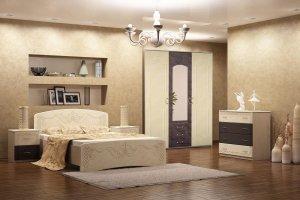 Набор мебели для спальной Глория - Мебельная фабрика «Империя»