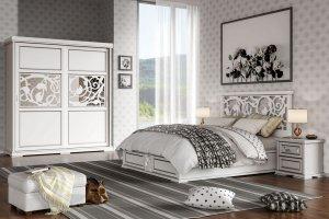 Набор мебели для спальной комнаты Юнона - Мебельная фабрика «Ресурс-мебель (Lasort)»