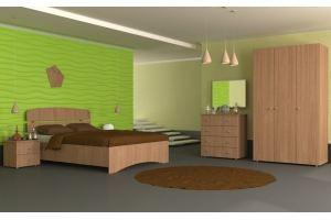 Спальный гарнитур Лотос (модульная система) - Мебельная фабрика «Гермес»