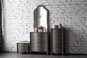 Набор мебели Джульетта серый ясень - Мебельная фабрика «Мебель Импэкс»