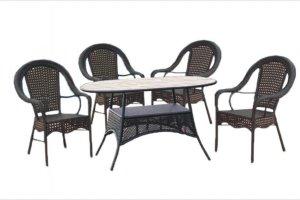 Набор мебели из ротанга Аликанте овал - Мебельная фабрика «Garden Story»
