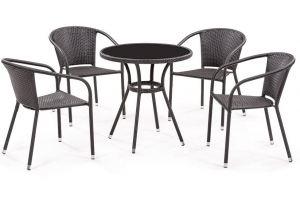 Набор мебели Кафе 4 стула - Мебельная фабрика «Garden Story»