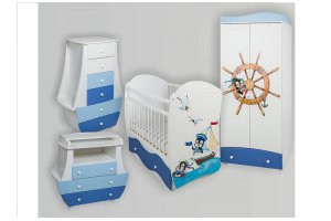 Набор мебели в детскую Капитан 1 - Мебельная фабрика «Сафаня»