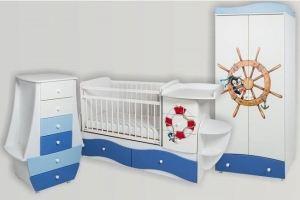 Набор мебели в детскую Капитан 2 - Мебельная фабрика «Сафаня»