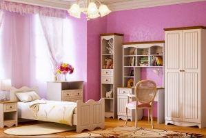 Набор мебели в детскую Винтаж - Мебельная фабрика «CALPE»