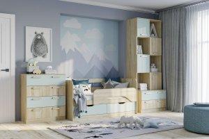 Набор модульной мебели для детской Акварель - Мебельная фабрика «Сильва»