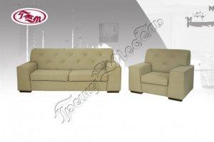 Набор мягкой мебели Дрезден  3-1 - Мебельная фабрика «Гранд-мебель»