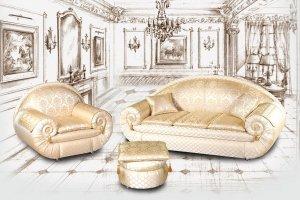 Набор мягкой мебели Клеопатра - Мебельная фабрика «DONKO»