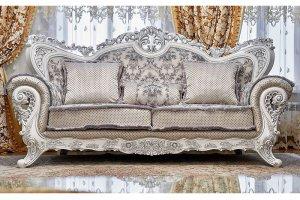 Набор мягкой мебели ЛОРД серебро  - Мебельная фабрика «Арида»