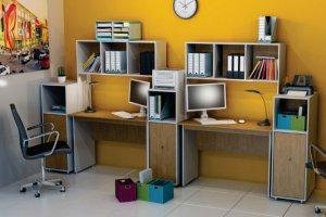 Набор офисной мебели Диалог 1 - Мебельная фабрика «Шадринская»