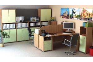 Набор офисной мебели Диалог 2 - Мебельная фабрика «Шадринская»