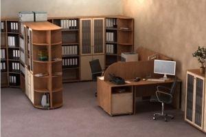 Набор офисной мебели Диалог 3 - Мебельная фабрика «Шадринская»